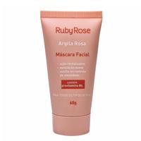Máscara Facial Ruby Rose Argila Rosa 60g