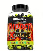 Ripped Extreme Atlhetica Nutrition Yellow Caps - 120 Cápsulas