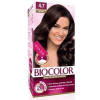 Tintura Creme Biocolor nº 4.7 marrom escuro da moda