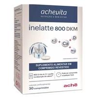 Inelatte 800 DKM Achevita  com 30 comprimidos