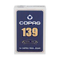 Baralho Copag nº 139, tradicional, naipe convencional, sortido, 1 unidade