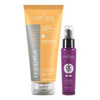 Kit Vizcaya Shampoo Hydra Care + CC Cream 12 em 1