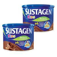 lata, chocolate, 380g, 2 unidades