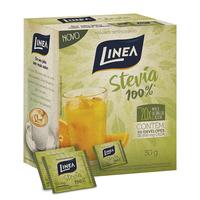 Adoçante Linea Stevia caixa com 50 sachês de 600mg