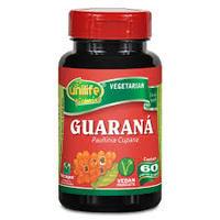 Guaraná Unilife 500mg, frasco com 60 cápsulas