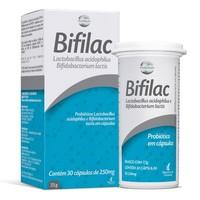 Bifilac 250mg, caixa com 30 cápsulas