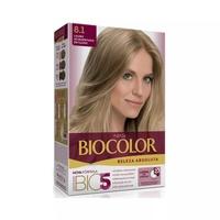 Tintura Biocolor Beleza Absoluta N° 8.1 Louro Acinzentado Estiloso