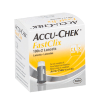 Lancetas Accu-Chek FastClix 102 Unidades