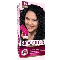 Tintura Creme Biocolor nº 3.0 castanho escuro chique