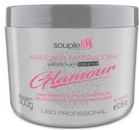 Máscara Matizadora SoupleLiss Glamour platinum blond com 300g