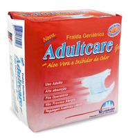 Fralda Geriátrica Adultcare M com 10 unidades