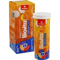 Biovita C Tripla Ação frasco com 10 comprimidos efervescentes