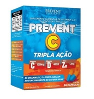 Prevent C Tripla Ação caixa com 60 cápsulas