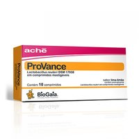 ProVance - 100.000.000UFC, caixa contendo 10 comprimidos mastigáveis, lima-limão