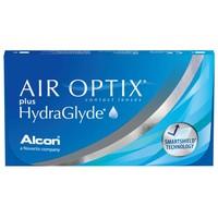 Lente de Contato Air Optix Plus HydraGlyde para Miopia grau -2.00, 3 pares
