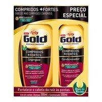 Kit Niely Compridos Mais Fortes Shampoo 300mL + Condicionador 200mL