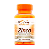Zinco Sundown - com 90 comprimidos