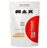 Mass Titanium 17500 Max Titanium refil, baunilha, 1,4Kg