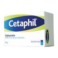 Sabonete Cetaphil Pele Seca barra, 80g