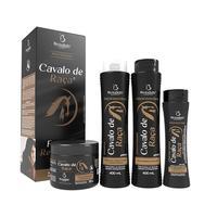 shampoo, 400mL + condicionador, 400mL + máscara de hidratação, 300g + creme de pentear, 200mL