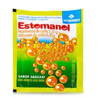 Estomanol 0,462g/g + 0,09g/g, envelope com 5g de granulado de uso oral
