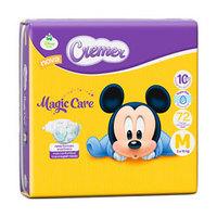 Fralda Cremer Magic Care M com 72 unidades