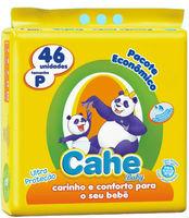 Fralda Cahe Baby P, 46 unidades