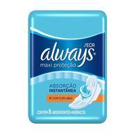 Absorvente Always Maxi Proteção Seca