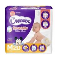 Fralda Cremer Disney Baby Shortinho M, pacote com 20 unidades