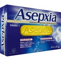 Sabonete Asepxia extra secante, barra com 85g