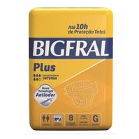 Fralda Bigfral Plus G, 8 unidades