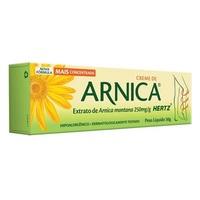 Arnica Hertz 250mg/g, caixa com 1 bisnaga com 30g de creme de uso dermatológico