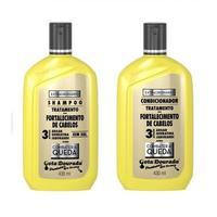 Kit Gota Dourada Fortalecimento dos Cabelos Shampoo 300mL + Condicionador 300mL