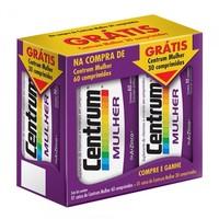 caixa com 60 comprimidos + grátis, 3 comprimidos