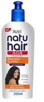 Shampoo de Nutrição Skafe Natu Hair S.O.S - 300mL