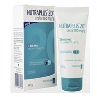 Nutraplus 20 200mg/g, caixa com 1 bisnaga com 60g de creme de uso dermatológico