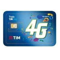 Chip Tim Pré 4G 1 unidade, nacional