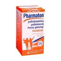 Pharmaton caixa com 30 cápsulas gelatinosas moles
