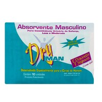 Absorvente Masculino Dry Man 10 unidades