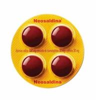 Neosaldina 30mg + 300mg + 30mg, blíster com 4 drágeas