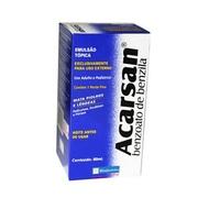 250mg/mL, caixa com 1 frasco com 80mL de emulsão de uso dermatológico