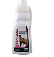 frasco com 1L de solução de uso oral veterinário