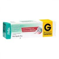 Clotrimazol Creme Dermatológico Sanofi Medley 10mg/g, caixa com 1 bisnaga com 20g de creme de uso dermatológico