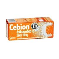 Cebion Zinco 1000mg + 10mg, caixa com 10 comprimidos efervescentes
