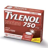 750mg, caixa com 10 comprimidos revestidos