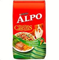 Ração para Cães Alpo Receitas Caseiras Adultos Carne com Seleção de Vegetais, 1Kg