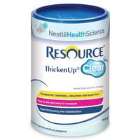 Espessante para Alimentos Líquidos Nestlé Resource Thicken Up Clear pote, 125g