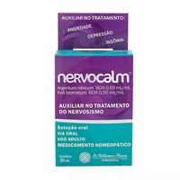 Nervocalm 0,50mL/mL + 0,50mL/mL, caixa com 1 frasco gotejador com 20mL de solução de uso oral