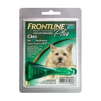 Frontline Plus para Cães - Até 10kg, 0,67mL