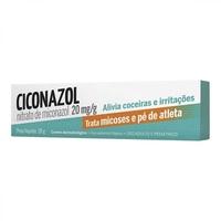 Ciconazol Creme 20mg/g, caixa com 1 bisnaga com 28g de creme de uso dermatológico